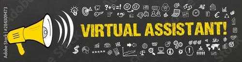 Obraz Virtual Assistant!  - fototapety do salonu