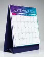 Simple Desk Calendar 2020 - Se...