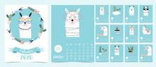 Doodle Pastel 2020 Calendar Se...