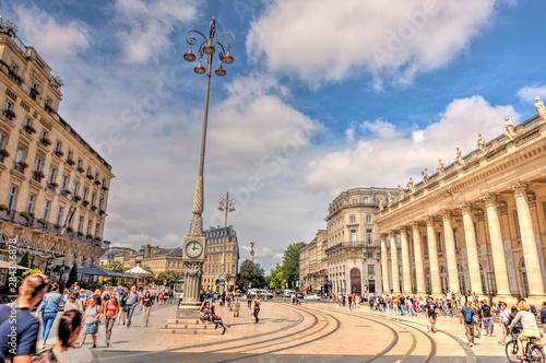 Bordeaux landmarks, France