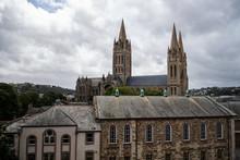 Truro Cathedral Cornwall Engla...