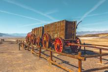 Wagon Train At Harmony Borax W...