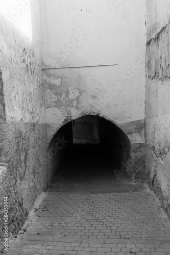 Fototapety, obrazy: Old buildings in old Moroccan city