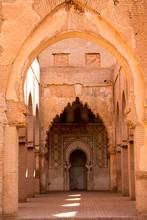 Morocco, Marrakech, Tinmal. Th...