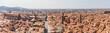 canvas print picture - Bologna vom Asinelli Turm