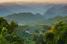 Myanmar. Shan State. Near Kala...