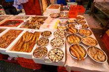 A Hong Kong Street Fish Market...