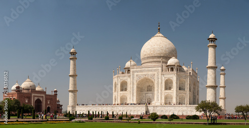 Fotografija  Asia, India. Taj Mahal. Multiframe Panoramic