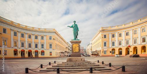 Photo  Odessa, Monument to Duc de Richelieu