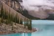 Moraine Lake, Lake Louise, Banff National Park, Alberta, Canada, Canadian Rockies, turquoise glacier lake