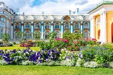 Catherine Palace In Tsarskoe S...