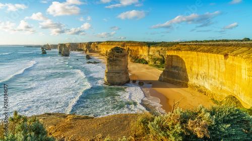 Fotografia  twelve apostles at sunset,great ocean road at port campbell, australia 28