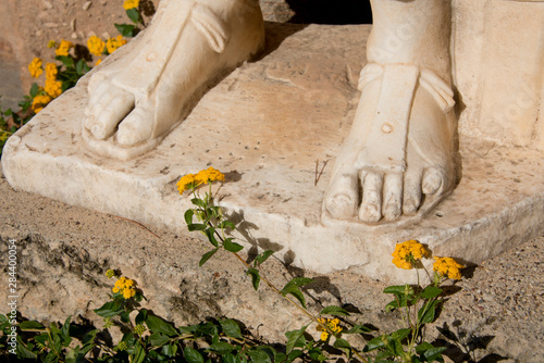 Obraz na plátne Greece, Corinth, Ancient Corinth
