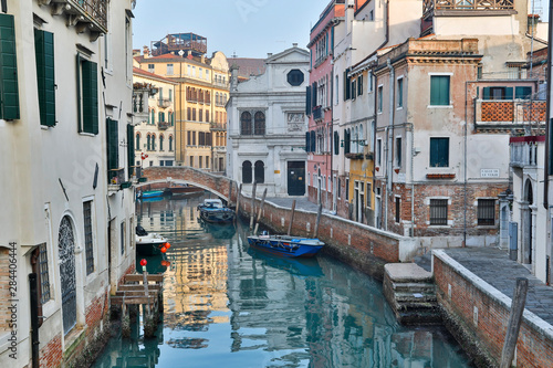 Venice, Italy. Canal and bridge