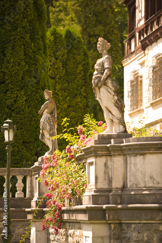Foto auf AluDibond Historische denkmal 18th Century Peles Castle, Sinaia, Romania, Eastern Europe