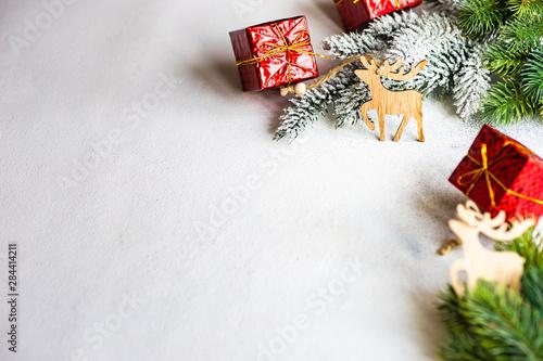Fototapeta Christmas holiday concept obraz na płótnie