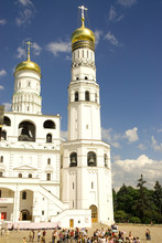 Russia. Moscow. Kremlin. Ivan The Great Bell Tower.