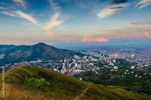 Fotografie, Obraz  ciudad de cali
