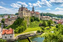 Sigmaringen Castle Above Danub...