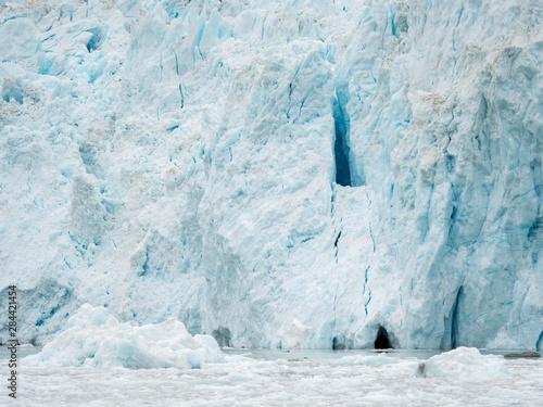 Obraz na plátne  Glacier Eqip (Eqip Sermia) in western Greenland, Denmark