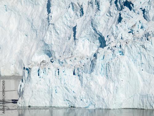 Fényképezés  Glacier Eqip (Eqip Sermia) in western Greenland, Denmark