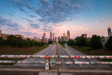 Atlanta Skyline Viewed From Ja...