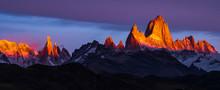 Argentina, Patagonia, Sunrise,...