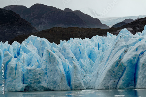 Poster Glaciers Grey Glacier, Torres del Paine National Park, Chile, Patagonia