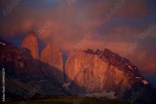 Chile, Torres del Paine National Park Wallpaper Mural