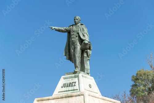 Foto op Plexiglas Historisch geb. Mexico, Oaxaca, Statue of Benito Juarez