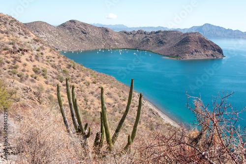 Photo Mexico, Baja California Sur, Sea of Cortez Protected bay with moorage