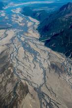 Aerial Of Lake Clark National Park And Preserve, Alaska, USA.