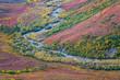 USA, Alaska, Brooks Range. Landscape of tundra and Dietrich River. Credit as: Don Paulson / Jaynes Gallery / DanitaDelimont.com