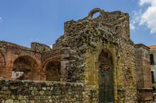 Panama, Panama City, Ruins, UNESCO Ruins Of Sixteenth Century Panama City Destroyed By English Captain Henry Morgan.