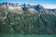 Crescent Lake, Lake Clark National Park And Preserve, Alaska, USA.