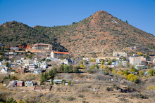 AZ, Arizona, Jerome, Historic Copper Mining Town, Founded In 1876
