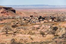 USA, Arizona, Navajo Reservation. Upper Moenkopi, A Self-governing Village On The Hopi Reservation In Arizona.