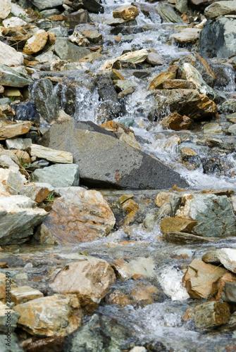 Photo Anderson Creek Tumbles Down Mt