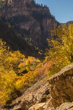 USA, Colorado, Glenwood Canyon...
