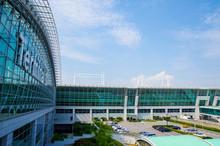 仁川国際空港のターミナルビル