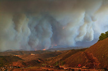 California Wildfire, Val Verde...