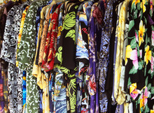 Colorful Aloha Shirts In Quain...