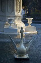 USA, Georgia, Savannah, Historic District, Forsyth Park, Fountain