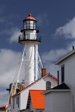Whitefish Point Lighthouse, The Oldest Operating Light On Lake Superior, Upper Peninsula, Michigan