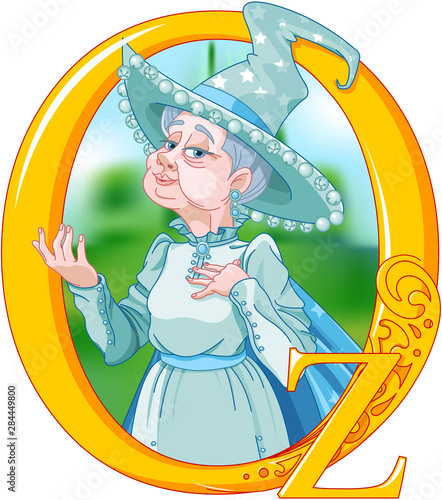 Wall Murals Fairytale World Good Witch of the North