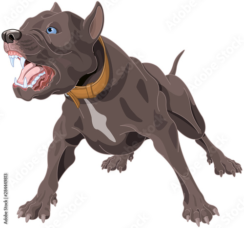 Poster Magie Barking Dog