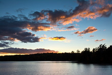 Sunset, Great Long Pond, North...