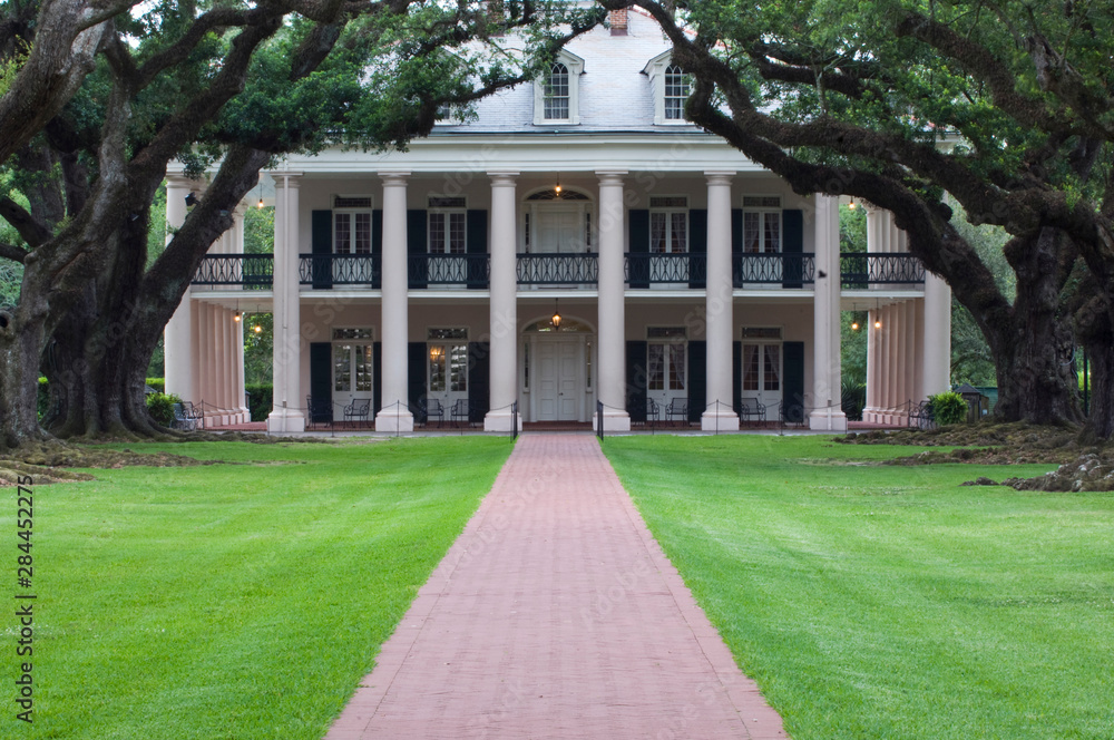 Fototapety, obrazy: Louisiana, St. James Parish, Vacherie, Oak Alley Plantation