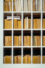USA, New Jersey, Stanton, Books In Windows, July.