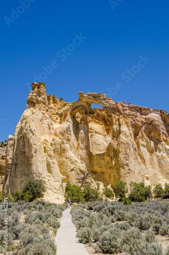 Obraz na plátně Grosvenor Arch, Grand Staircase-Escalante National Monument, Utah, USA